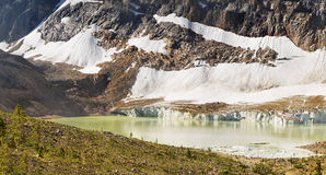 Ландшафт горной цепи, скалистые горы, Канада Стоковая Фотография RF