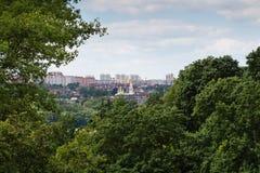 Ландшафт города Kaluga стоковая фотография