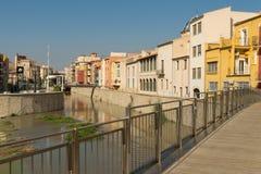 Ландшафт города Orihuela старый Стоковые Фотографии RF