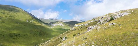 Ландшафт горы высокогорный Стоковые Фото