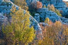 Ландшафт горы в Греции стоковое фото