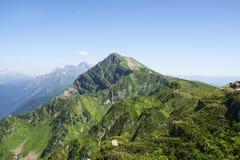 Ландшафт горы в лете стоковая фотография