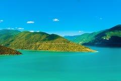 Ландшафт горы в зеленом цвете wally Стоковые Фото