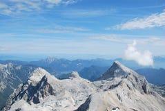 Ландшафт горы в Словении Стоковые Изображения