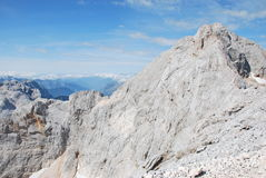 Ландшафт горы в Словении стоковые изображения rf