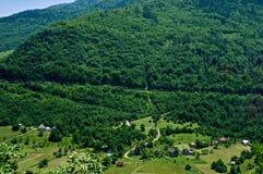 Ландшафт горы в Черногори Стоковые Фотографии RF