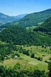 Ландшафт горы в Черногори Стоковое Изображение RF