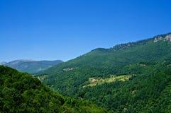 Ландшафт горы в Черногори Стоковая Фотография RF