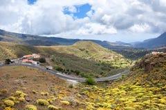 Ландшафт горы в Gran Canaria Стоковое Фото