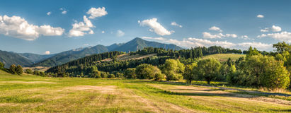 Ландшафт горы лета Стоковая Фотография RF