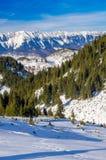 Ландшафт горы зимы Стоковые Фото