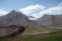 Ландшафт горы. Крыша мира Стоковые Фото