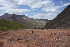 Ландшафт горы. Крыша мира Стоковое фото RF