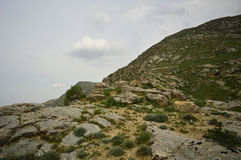 Ландшафт горы, Кыргызстан Стоковая Фотография