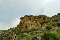Ландшафт горы, Кыргызстан Стоковое Изображение