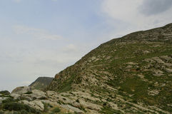 Ландшафт горы, Кыргызстан Стоковые Изображения RF