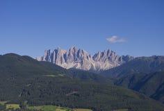 Ландшафт горы доломитов Стоковое Изображение