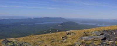 Ландшафт горы. Панорама Стоковая Фотография RF