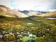Ландшафт горы, Перу Стоковая Фотография RF