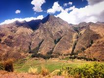 Ландшафт горы, Перу стоковые изображения