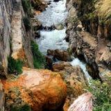 Ландшафт горы, Перу Стоковые Фото