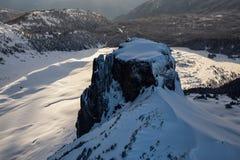 Ландшафт горы таблицы воздушный Стоковое фото RF