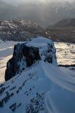 Ландшафт горы таблицы воздушный стоковые изображения rf
