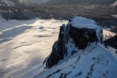 Ландшафт горы таблицы воздушный Стоковые Фото