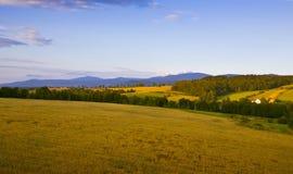 Ландшафт горы стоковые изображения