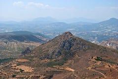 Ландшафт горы. Стоковые Изображения