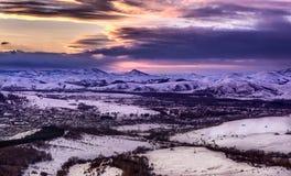 Ландшафт горы Стоковое Изображение