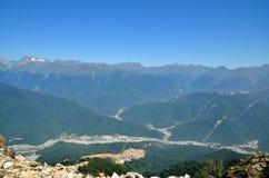 Ландшафт горы Стоковые Изображения RF