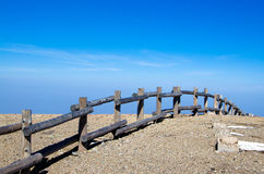 Ландшафт горы Changbai Стоковые Фото