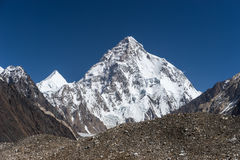 Ландшафт горы K2, K2trek Стоковое Фото