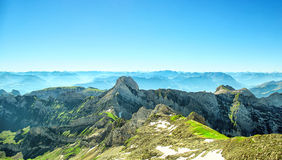 Ландшафт горы Saentis Стоковое Изображение RF