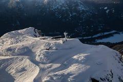 Ландшафт горы Whistler воздушный стоковые изображения
