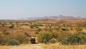 Ландшафт гор и злаковиков, Palmwag Стоковые Фотографии RF