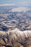Ландшафт гор снежка в Японии около Токио Стоковые Фотографии RF
