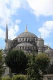 Ландшафт голубой мечети Стоковое фото RF