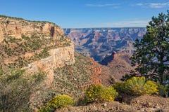 Ландшафт гранд-каньона сценарный Стоковое Изображение RF