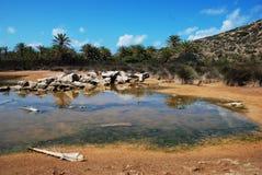 Ландшафт Греции стоковые изображения rf
