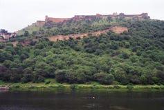 Ландшафт Джайпур Индия Стоковые Изображения