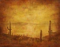 Ландшафт Диких Западов Стоковые Фотографии RF