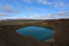 Ландшафт естественный Тарн Исландии Стоковые Изображения RF