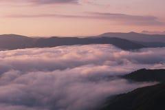 Ландшафт лета прикарпатский Стоковые Фото