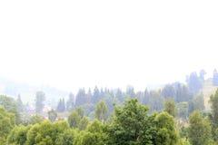 Ландшафт лета с красивыми горами Стоковое фото RF