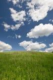 Ландшафт с облаками Стоковые Изображения RF