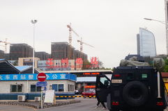 Ландшафт железнодорожного вокзала Шэньчжэня западный Стоковое Изображение