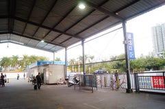 Ландшафт железнодорожного вокзала Шэньчжэня западный Стоковые Изображения