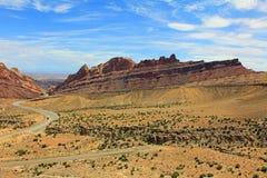Запятнанный каньон волка Стоковые Фото
